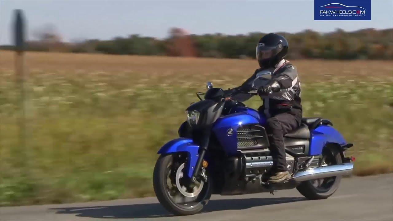 Honda Goldwing Valkyrie At Pakwheels Okara Autoshow 2018 Youtube