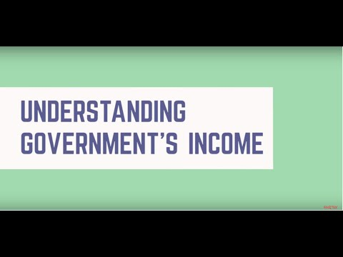 Understanding Government's Income