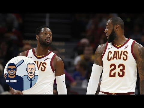 Was LeBron James involved in Dwyane Wade coming off the bench? | Jalen & Jacoby | ESPN