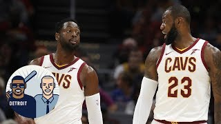 Was LeBron James involved in Dwyane Wade coming off the bench?   Jalen & Jacoby   ESPN thumbnail