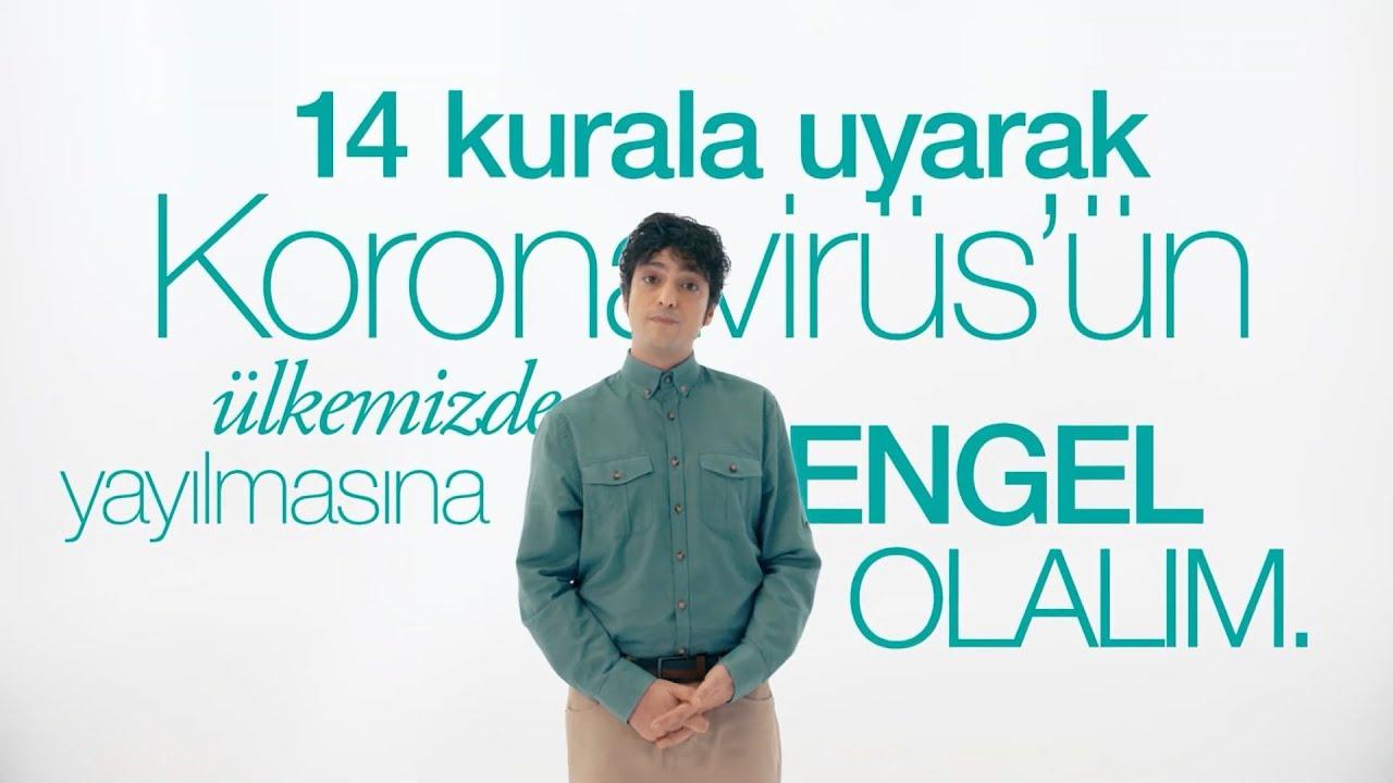 Koronavirüs riskine karşı uyulması gereken 14 kural!