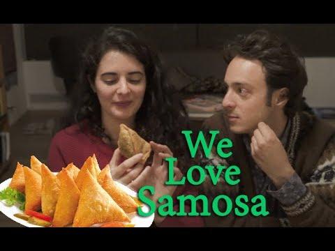 Samosas Indian Snacks Reaction | South American Couple