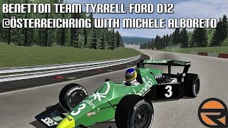 [rFactor] Benetton Team Tyrrell-Ford 012 @Österreichring with Michele Alboreto