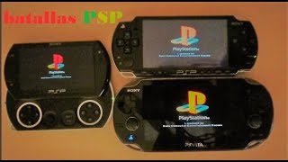 PSP 2004 vs PSP GO vs PS VITA!!!! 2018