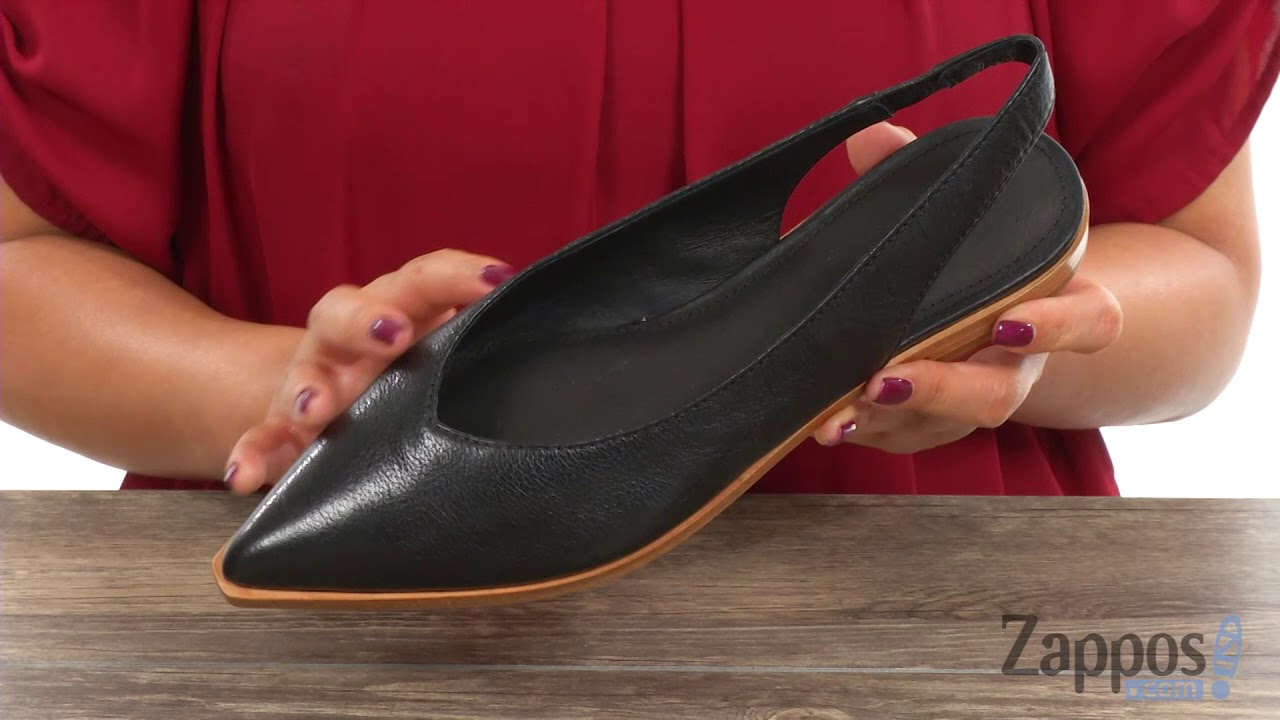 Frye Womens Kenzie Slingback Ballet Flat