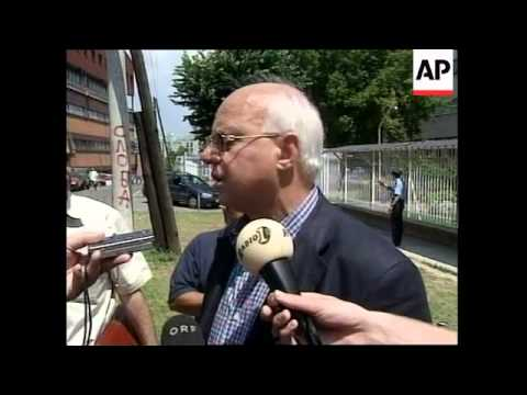 Lawyer on legal moves plus pro-Milosevic delegation