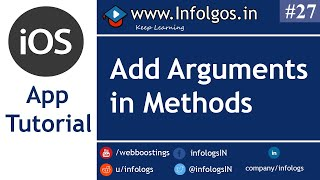 Use of Methods with Arguements in Objective C - Tutorial 25