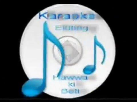 Ek Din Aap  ( Yes Boss  ) Free karaoke with lyric by Hawwa -