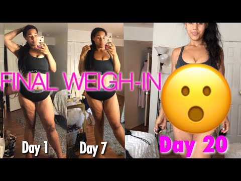FINAL WEIGH-IN | Day 20 Dherbs full body cleanse
