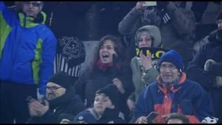 Il gol di Pjanic - Juventus - Atalanta - 3-2 - Tim Cup 2016/17