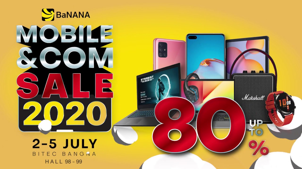 BaNANA MOBILE & COM SALE 2020 @ TME
