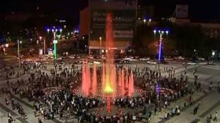 (www.fontangrad.ru) Поющие фонтаны Краснодара