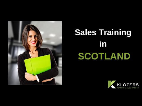 Sales Training in Scotland
