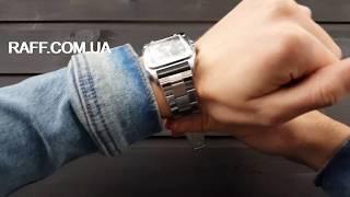 Механические часы прямоугольной формы Jaragar Extra (№8921) обзор