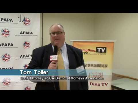 APAPA-11th Annual Voters Education & Candidates Forum-Tom Toller