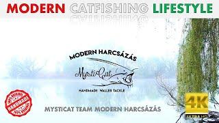 Modern Catfishing Lifestyle Welsangeln Passion  Wels Catfish Harcsahorgászat Mint életérzés