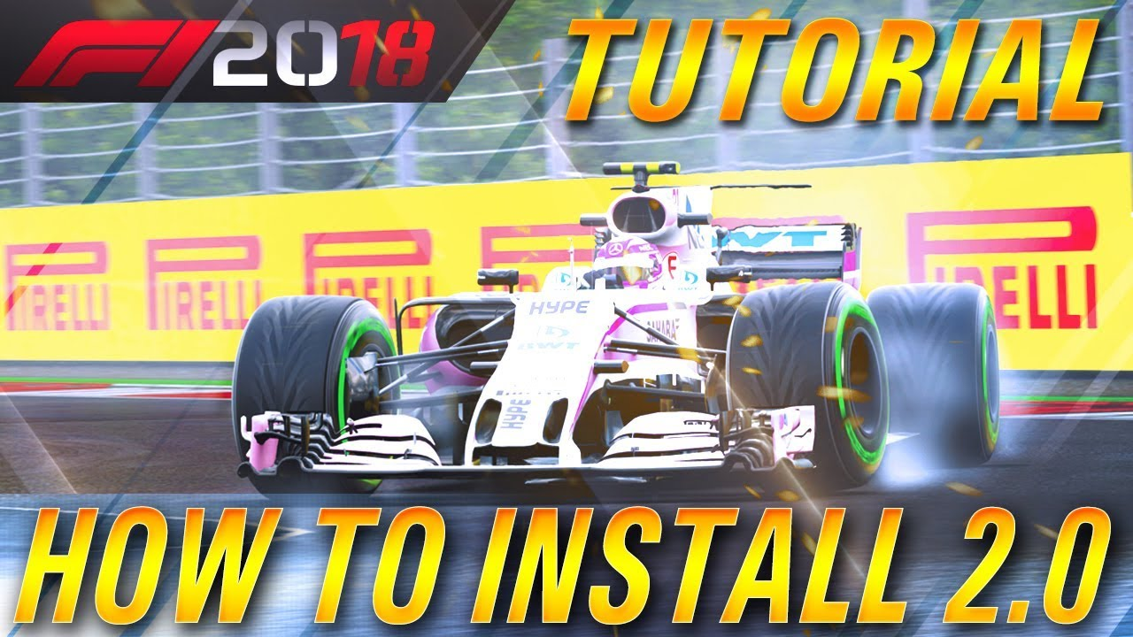 How To Install F1 2018 Season Mod 2 0