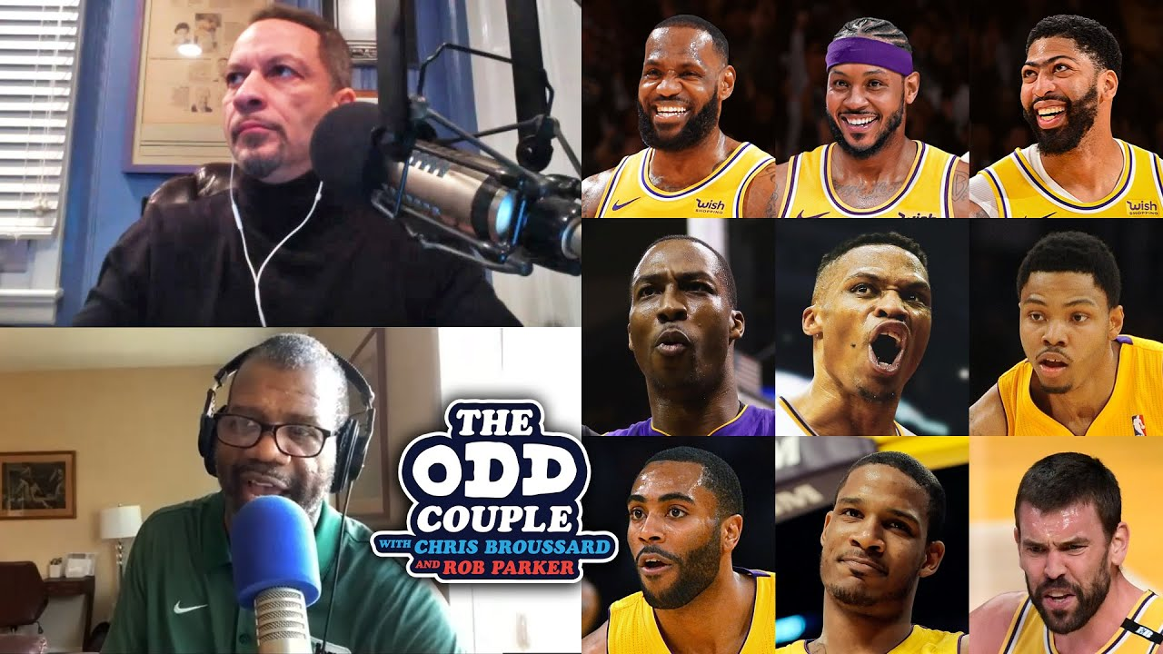 Chris Broussard & Rob Parker - Lakers May Have the Talent to Beat the West but NOT Brooklyn
