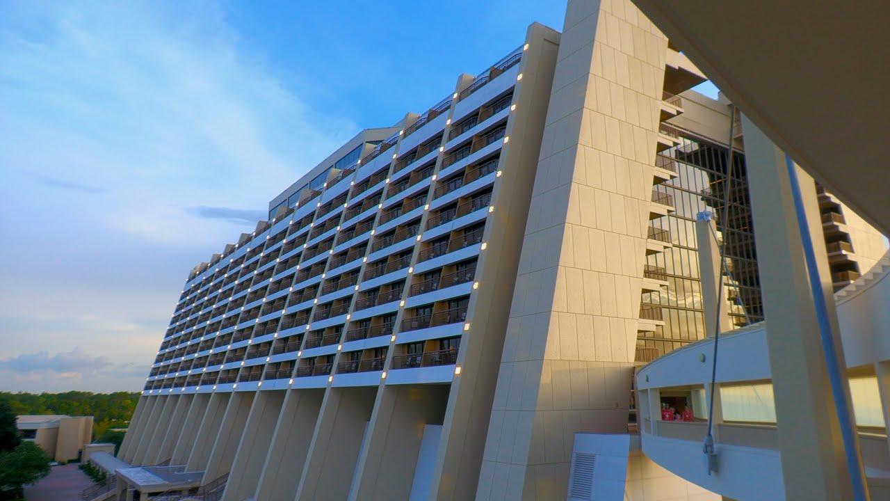 My Stay at Disney's Contemporary Resort in 4K | Magic Kingdom Resort Tour Walt Disney World 2020