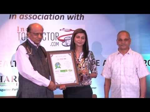 Shubi Husain, Founder & Mng Director, Health Sanctuary gets Global Healthcare Excellence Award 2014
