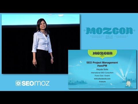 MozCon 2012 - 20 - Aleyda Solis - SEO Project Management