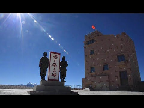 Border soldiers in Tibet's most inhospitable land