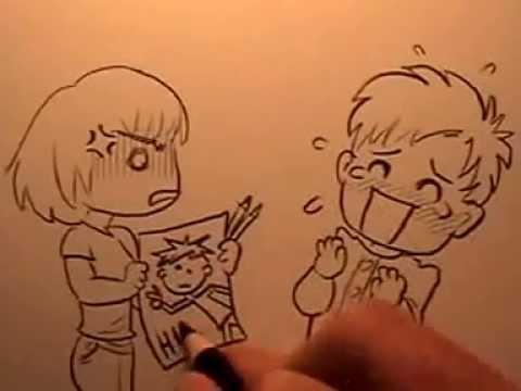 20 Ways To Draw Chibi Emotions Youtube