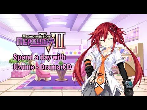 [Eng sub]Megadimension Neptunia VII Drama CD - Uzume (Visualized)