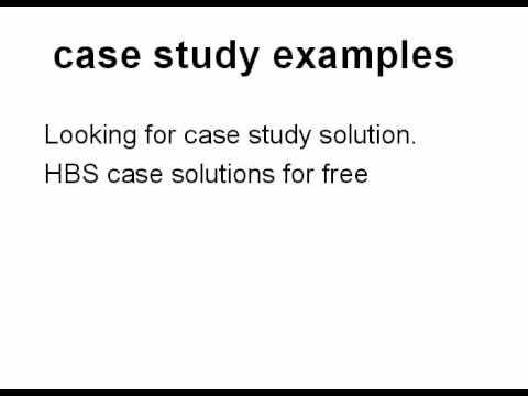 case study examples.avi