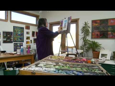 Jane Shoenfeld - Sketching and Painting Santa Fe New Mexico