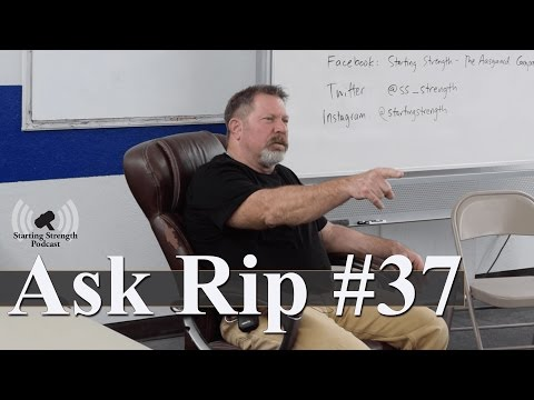 The importance of a good training environment   Ask Rip #37
