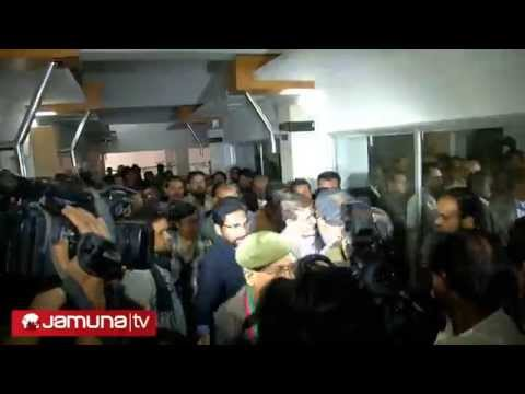 Mirza Fakhrul Arrested infront of Pressclub :Report By Alamgir Swapan 060115