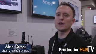 Sony PXW-X400 & PSW-100RX1 at the 2015 NAB Show New York