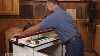Woodworking Tips: Routers - Simplified Router Fence Setup