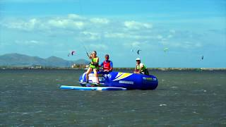 Try out or learn Kitesurfing easy & safe