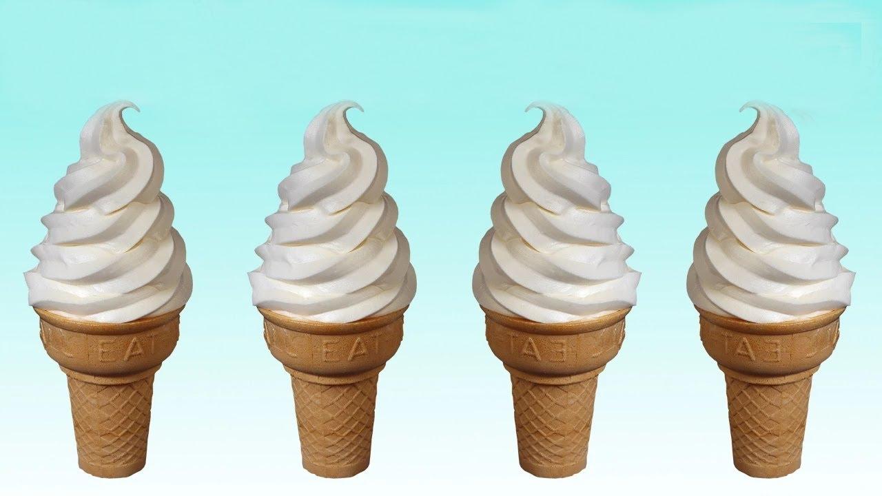 Как сделать мягкое мороженое