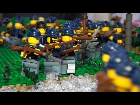 Huge LEGO U.S. Civil War Battle of the Wilderness - BrickFair Virginia 2014