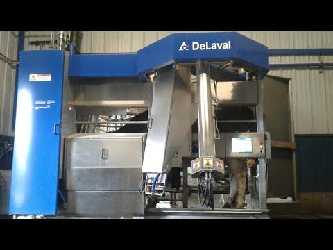 DeLaval Robot Cow Milkers