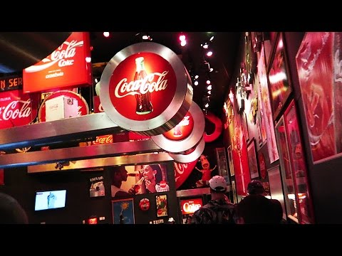 The World of Coca Cola!!
