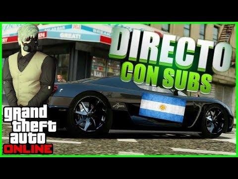 DIRECTO DE GTA V ONLINE | Jugando Con Suscriptores | (Argentina) (Ps4)