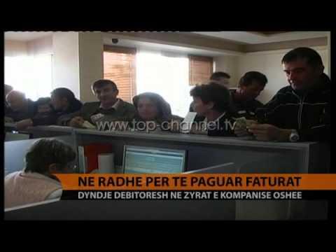 Në rradhë për të paguar faturat e energjisë - Top Channel Albania - News - Lajme