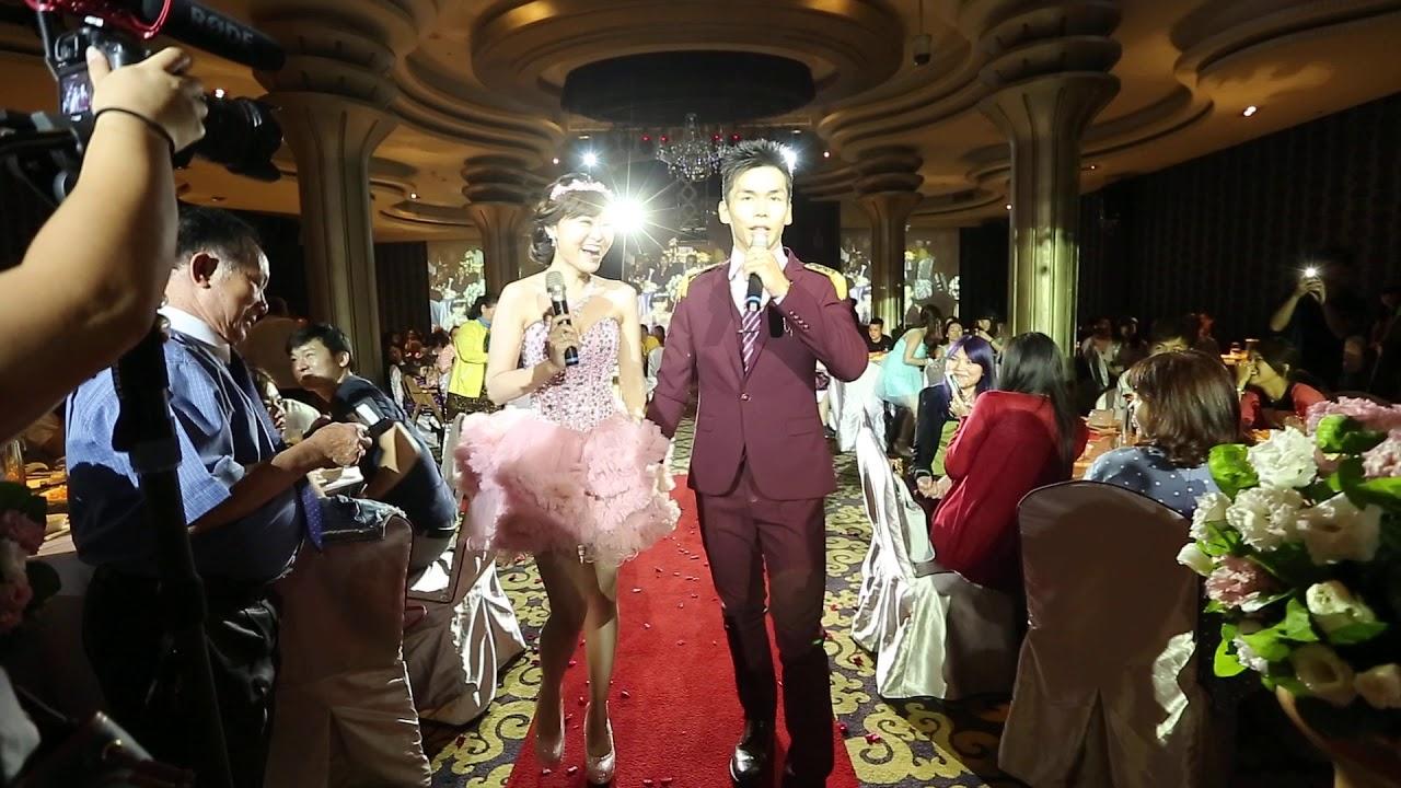 2016年結婚跳舞 郭富城-對你愛不完 陳百譚:我一定會成功 炫雅: trouble maker - YouTube