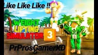 😱Roblox Jeılbreak İ Geçen Simulator Oyunu!😱 Weight Lifting Simulator 3
