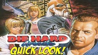 Sega Saturn: Die Hard Arcade! Quick Look - YoVideogames