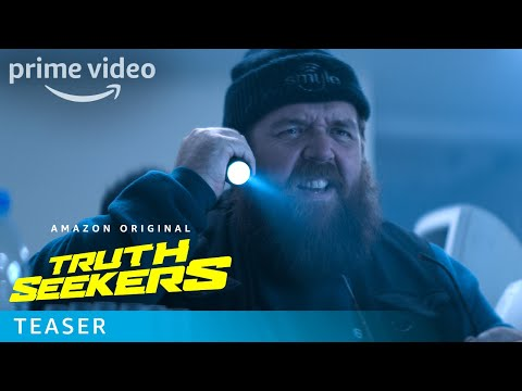 Truth Seekers: New Prime Video series with Nick Frost and Simon Pegg