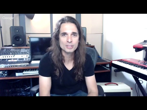 Workshop Online com Kiko Loureiro