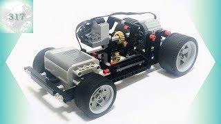 [Інструкція] 3-ступінчаста механічна коробка передач [Лего техніки ЛВ-317]
