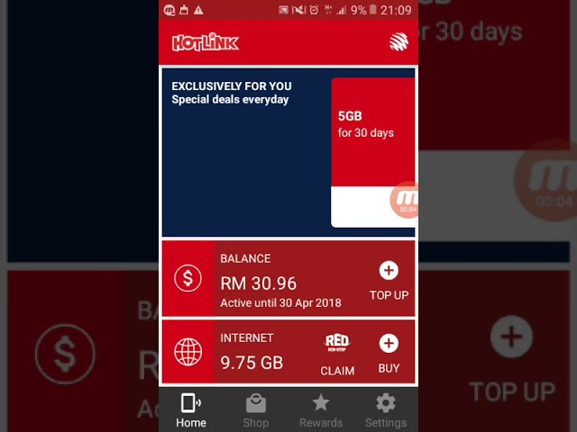 How to download internet by using the new Hotlink App