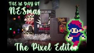 12 Days Of NESmas - Day One: The Pixel Editor