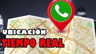 UBICACIÓN en Tiempo REAL en WhatsApp   Nueva Actualización